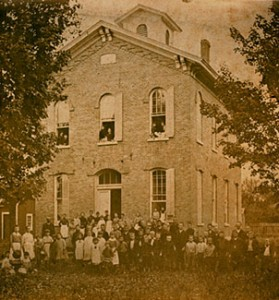 Cicero Union School – Year 1867